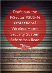 PiSector Professional Wireless Home Security Alarm System Kit with Auto Dial PS03-M Review
